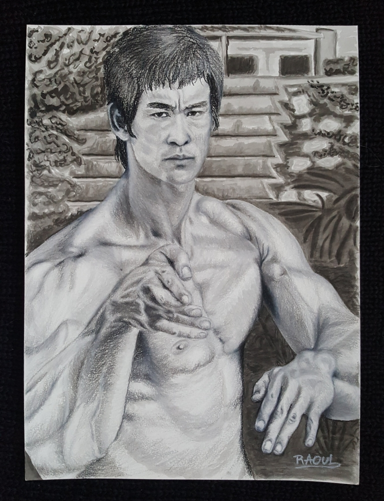 Bruce Lee by Raoul.G